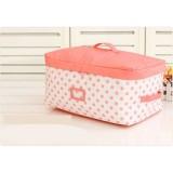 Wholesale - Stylish Walzer Bowknot Decor Storage Bag Medium