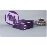 Wholesale - Stylish Violet Storage Bag Large