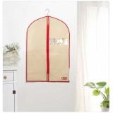 Wholesale - Simple Pattern Non-woven Fabric Visible Window Suit Zipper Dust Cover Closet Organizer
