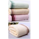 Wholesale - Bamboo Fibre Soild Color Bath Towel Y3-060