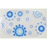 Wholesale - Antiskid Environmental PVC Oval Tranaparent Orchid Bath Mat