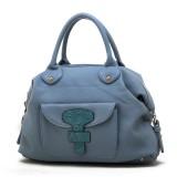 Wholesale - Stylish Simple Joker Pattern PU Handbag Shoulder Bag Messenger Bag