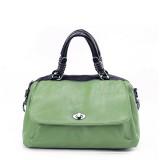 Wholesale - Stylish Simple Pattern PU Soild Color Handbag Shoulder Bag Messenger Bag