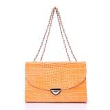 Wholesale - Stylish Cow Leather Soild Color Handbag Shoulder Bag Messenger Bag