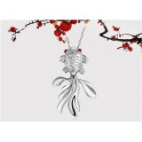 Wholesale - Fashion Goldfish Shaped 955 Sterling Silver Pendant