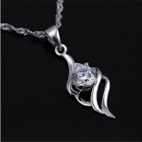 Wholesale - Wave and Diamond Designed Pendent