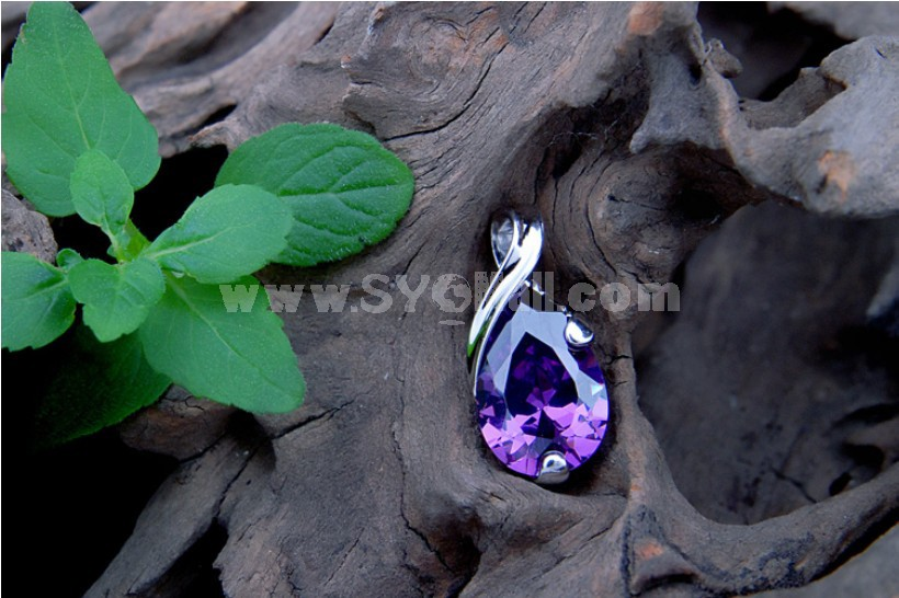 """""""The Start of Love"""" Sterling Silver Pendent"""