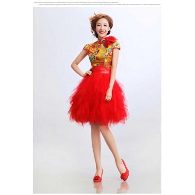 http://www.orientmoon.com/37922-thickbox/mandarin-collar-short-sleeve-knee-length-short-cheongsam-chinese-dress.jpg
