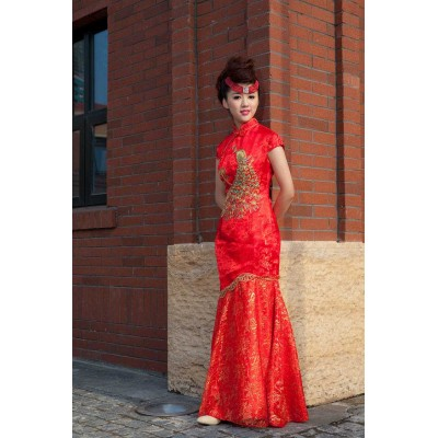http://www.orientmoon.com/37932-thickbox/retro-mandarin-collar-short-sleeve-ankle-length-embroidery-short-cheongsam-chinese-dress.jpg