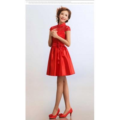 http://www.orientmoon.com/37962-thickbox/mandarin-collar-short-sleeve-knee-length-short-cheongsam-chinese-dress.jpg