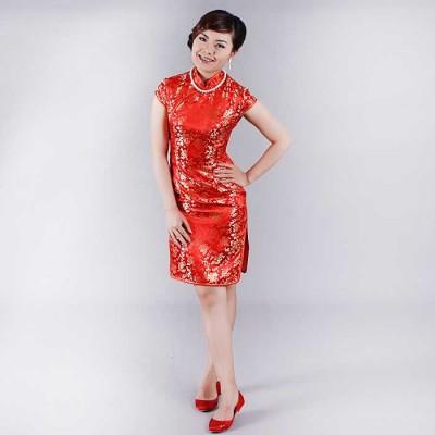 http://www.orientmoon.com/37982-thickbox/mandarin-collar-short-sleeve-knee-length-short-cheongsam-chinese-dress.jpg
