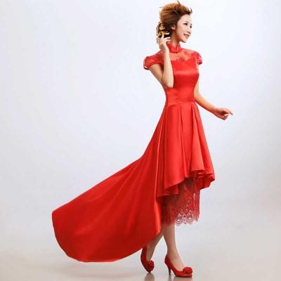 http://www.orientmoon.com/38034-thickbox/mandarin-collar-short-sleeve-knee-length-asymetric-cheongsam-chinese-dress.jpg