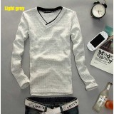 Wholesale - Fashionable Casual Slim V-Neck Bottoming Knitwear (1612-MD115)
