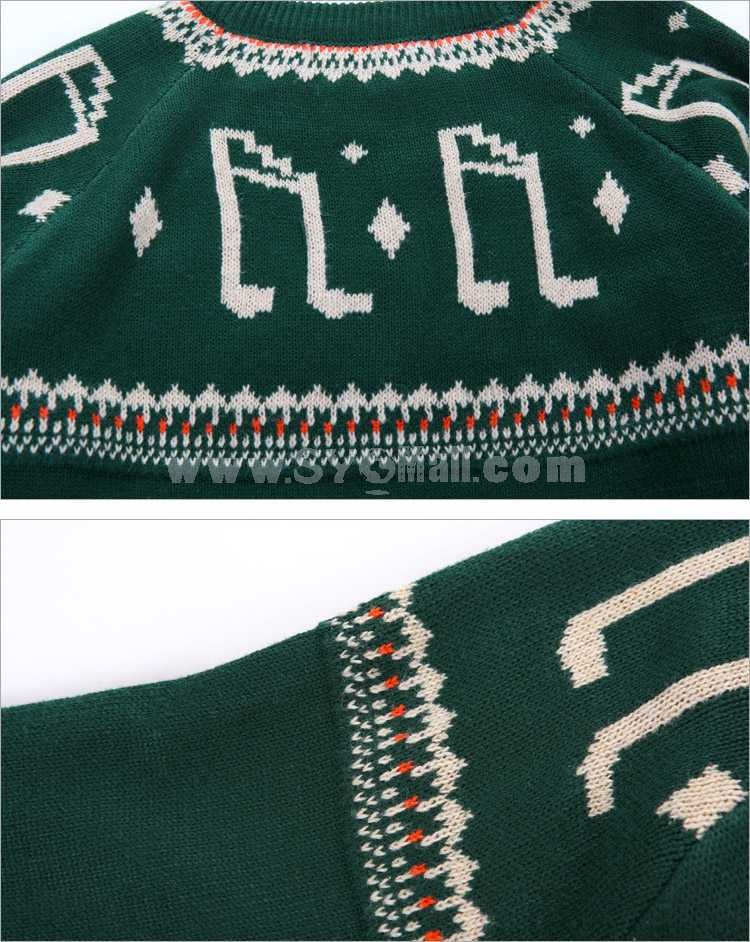 Musical Notes Style Sweater (1015-M02)
