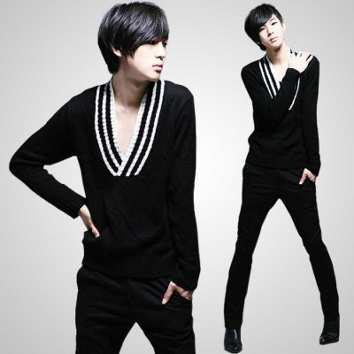 http://www.orientmoon.com/41917-thickbox/fashionable-trendy-wide-v-neck-design-thin-bottoming-knitwear-1515-m106.jpg