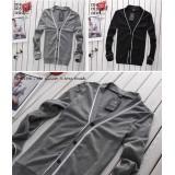 Wholesale - Fashionable All-Match Knitting Cardigan with White Neckline/Hem (1-303-Q03)