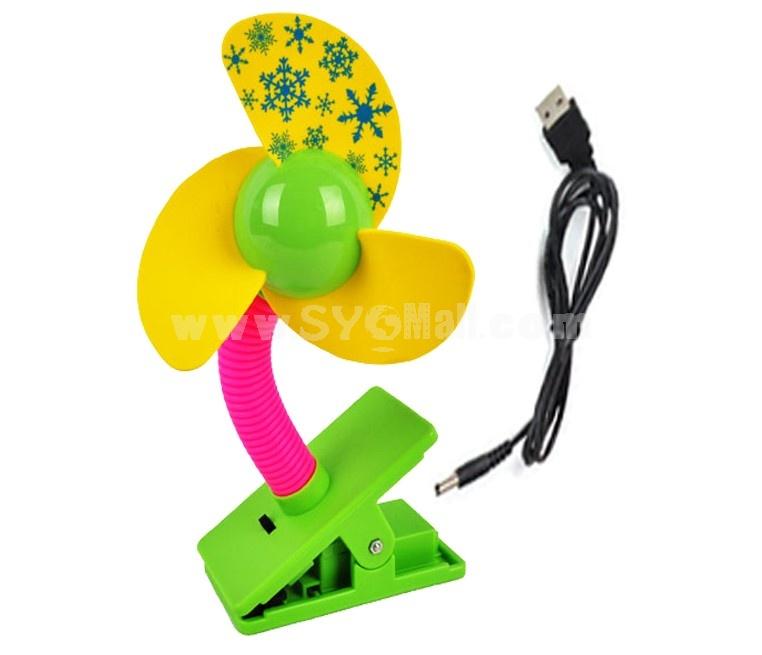 Summer Essential USB Battery 2 in 1 Splint Fan
