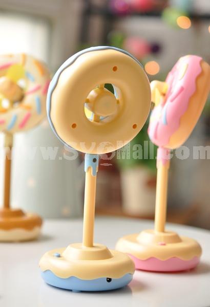 Cute Doughnut Designed USB Fan
