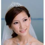 Wholesale - Crown Pattern Shiny Alloy Rhinestone Bridal Tiara 13