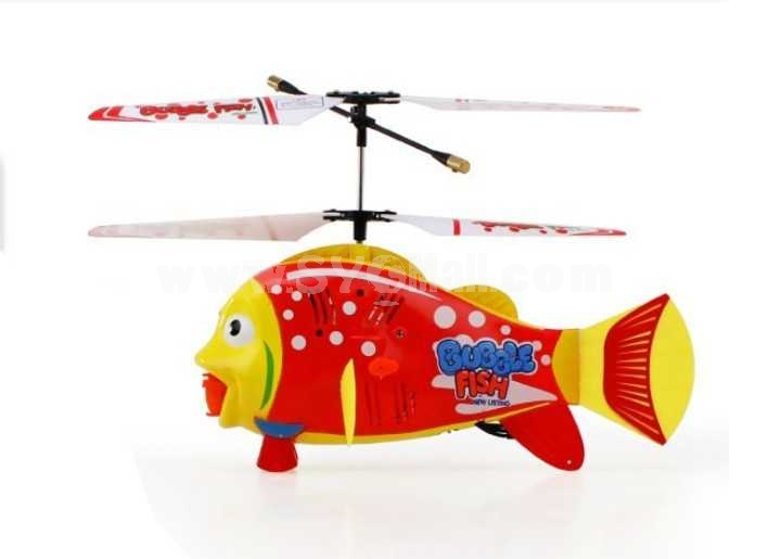 3.5 Channel RC Cartoon Bubbles Fly Fish
