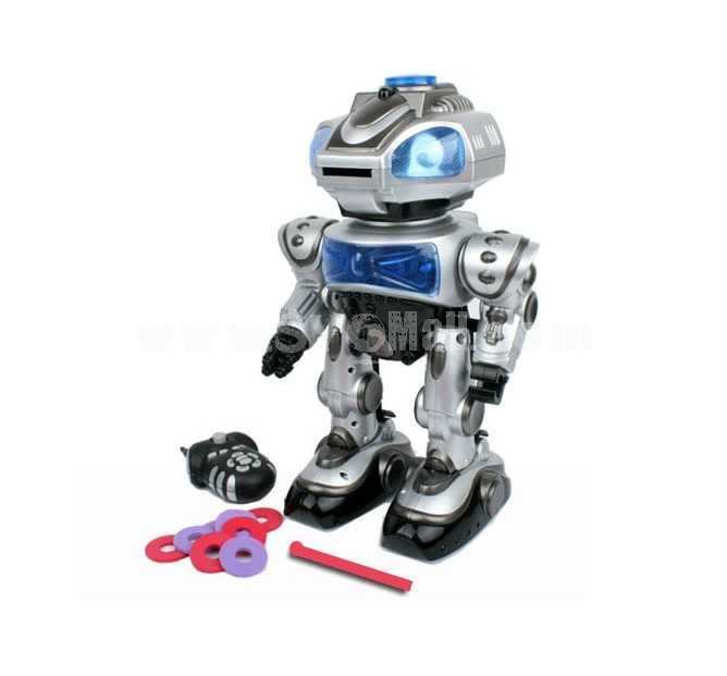 Robokid Programmable Disc Shooting Electric RC Robot