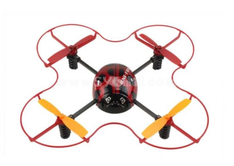 4 Channel 2.4G Hz Four Axis 3D Acrobatics RC UFO