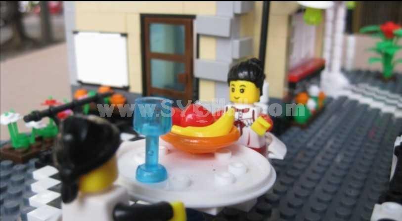 LEGO Luxury House Intelligence Building Blocks