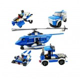 Wholesale - LEGO 5 in 1 Land/Air Police -Building Blocks