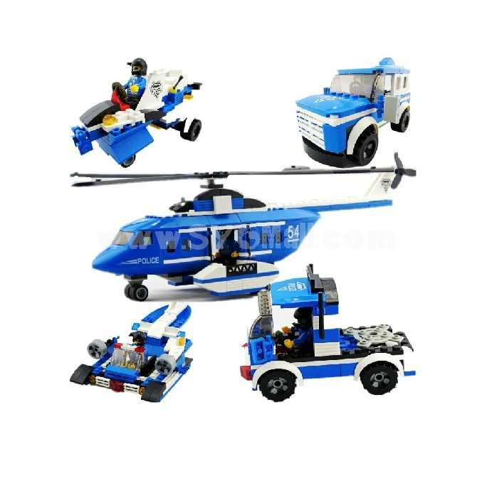 LEGO 5 in 1 Aeroamphibious Police Intelligence Blocks