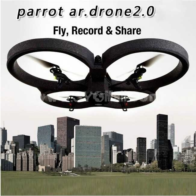 Parrot Ar.Drone 2.0 4 Axis RC Aerial Photo Flyer for iPhone