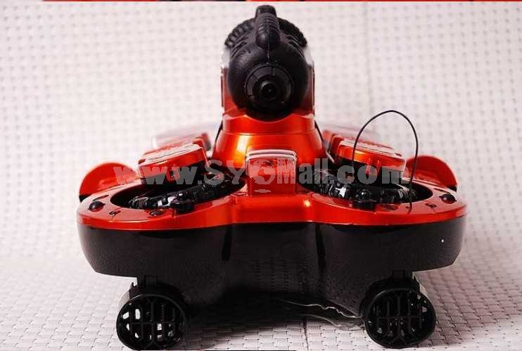 YIERDA RC Amphibious Tank with  Water Canons