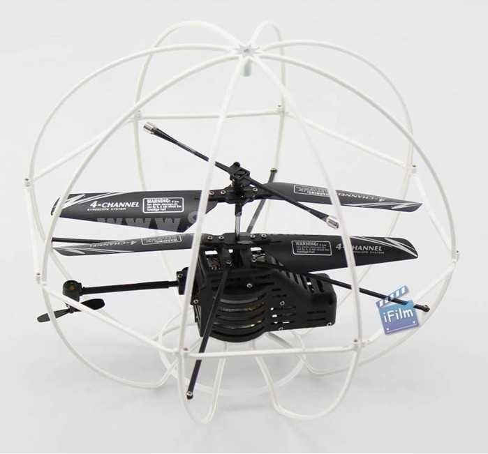 3.5 Channel RC Gyroscope Flying Fortress