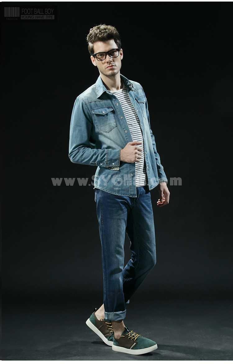 FBBOY Cotton Straight Denim Men Jeans Slim Causal Style F167