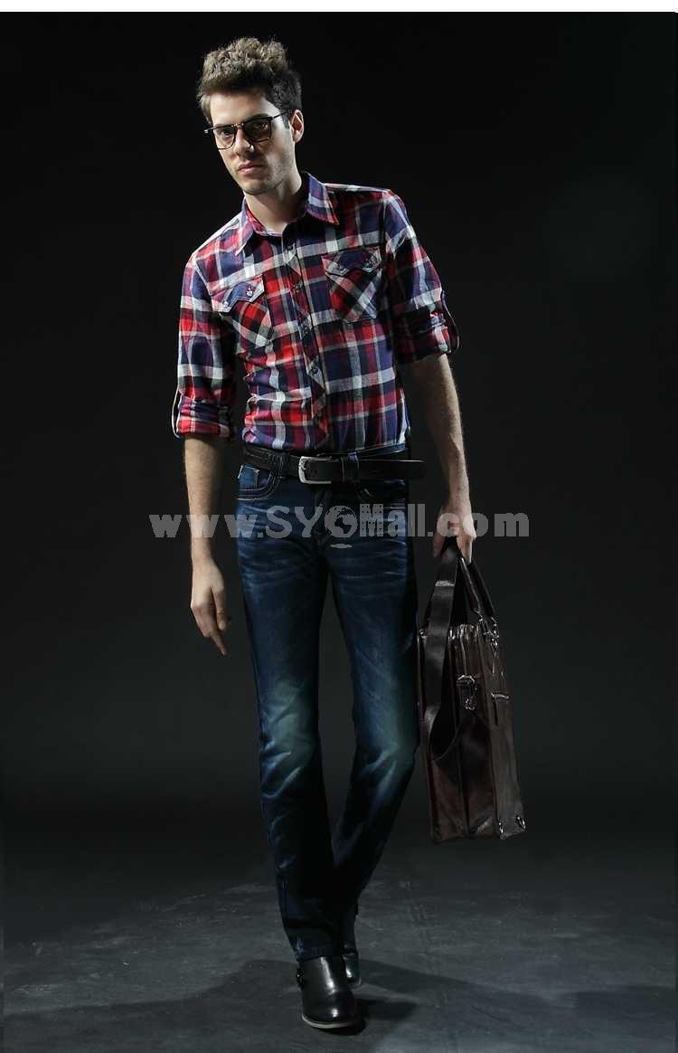 FBBOY Cotton Straight Denim Men Jeans Slim Causal Style