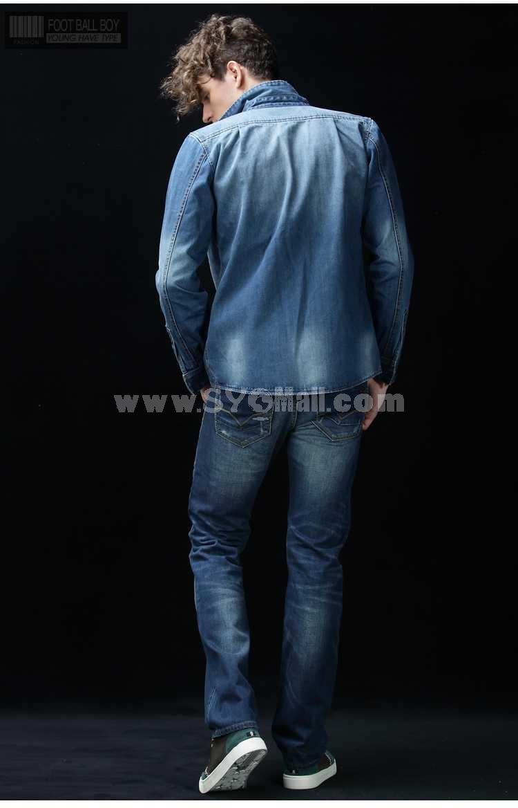 FBBOY Cotton Straight Denim Men Jeans Slim Causal Style F160