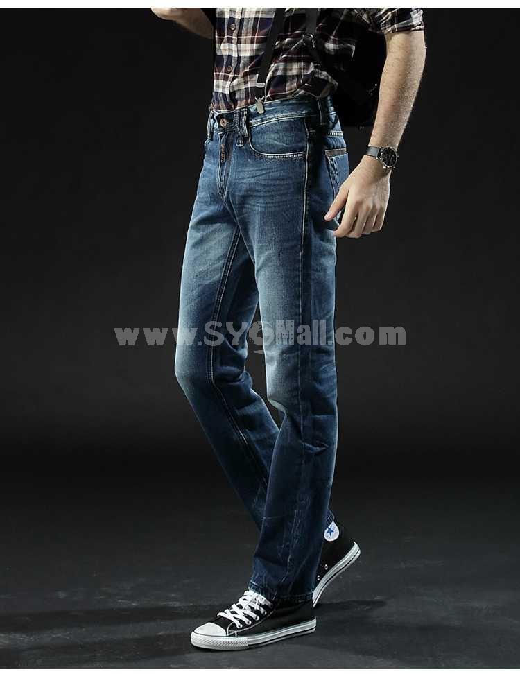 FBBOY Cotton Straight Denim Men Jeans Slim Causal Style F130