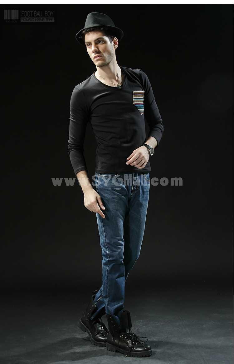 FBBOY Cotton Straight Denim Men Jeans Slim Causal Style F181