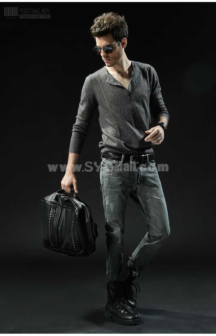 FBBOY Cotton Straight Denim Men Jeans Slim Causal Style F131