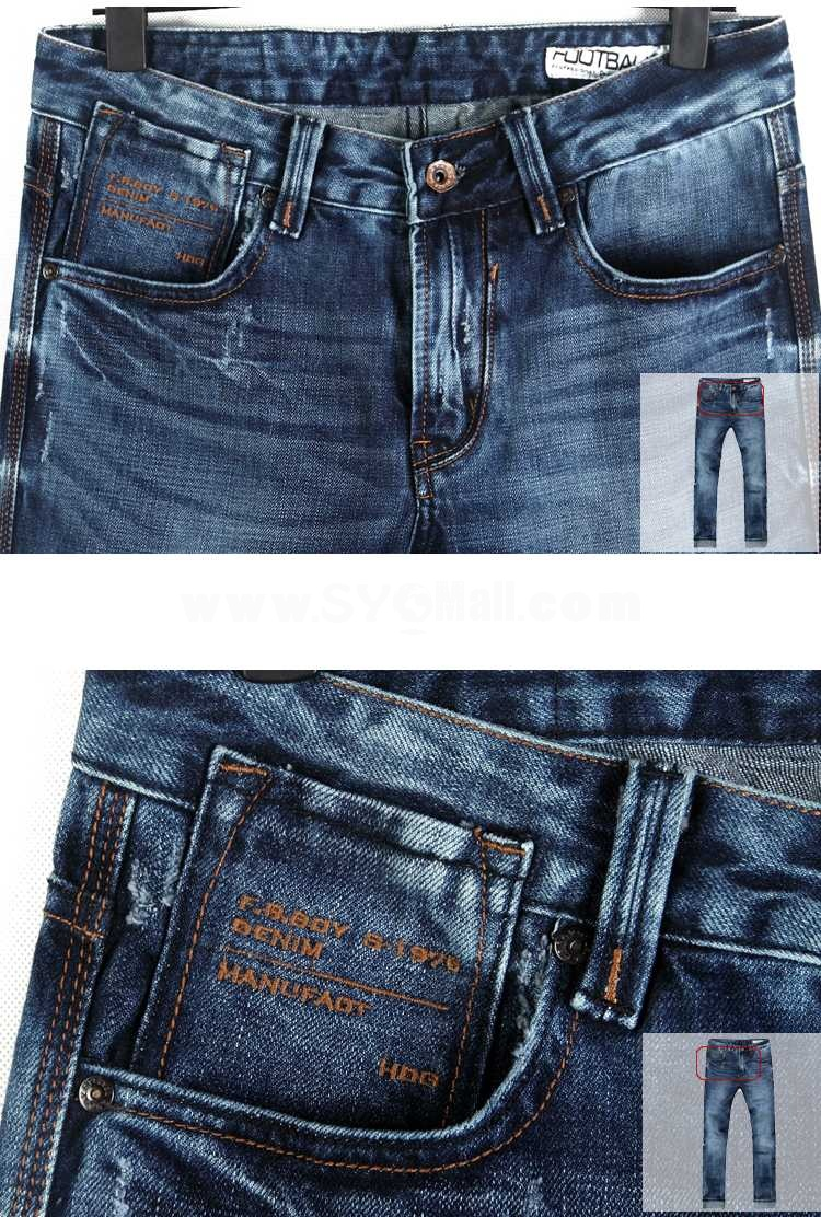 FBBOY Cotton Straight Denim Men Jeans Slim Causal Style F123