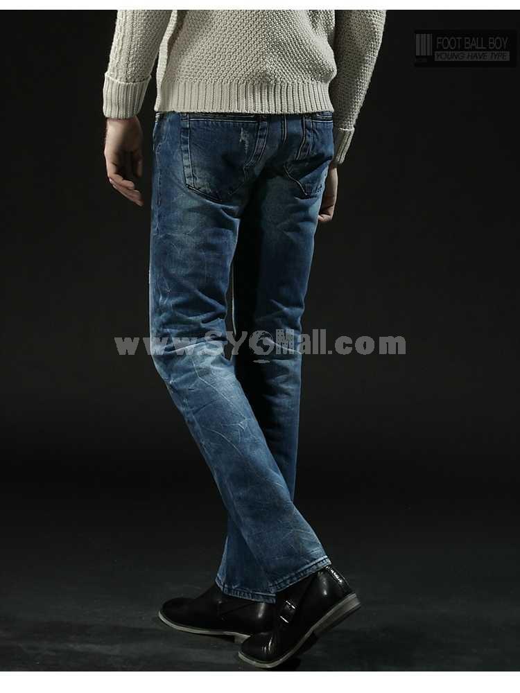 FBBOY Cotton Straight Denim Men Jeans Slim Causal Style F120