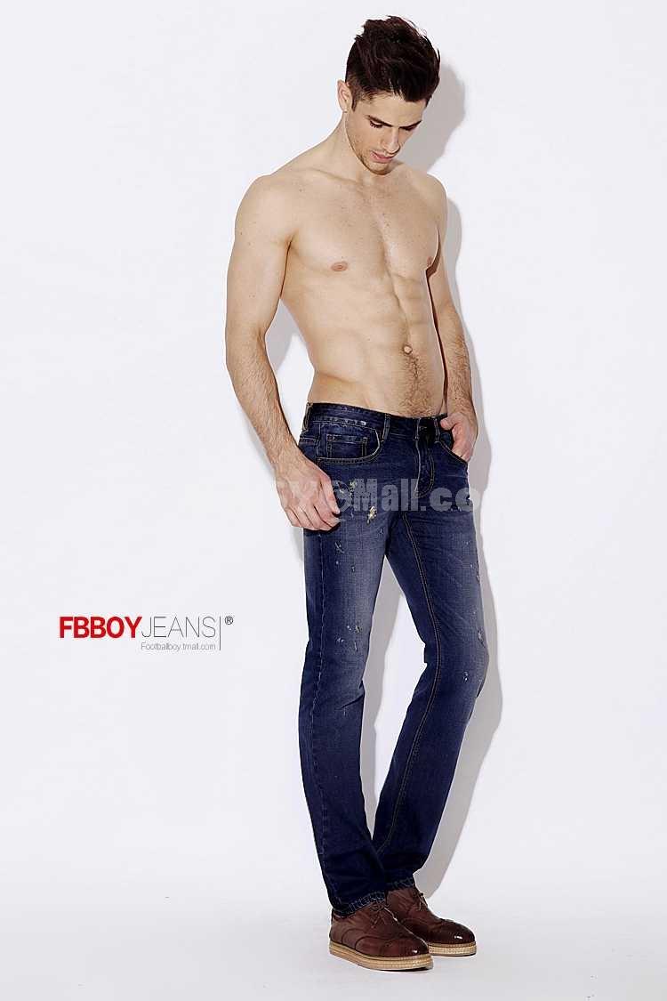 FBBOY Cotton Straight Denim Men Jeans Slim Causal Style FK0008