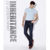 Wholesale - FBBOY Cotton Straight Denim Men Jeans Slim Causal Style FK0006