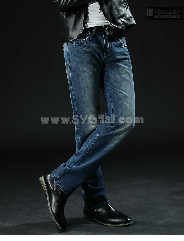 FBBOY Cotton Straight Denim Men Jeans Slim Causal Style F158