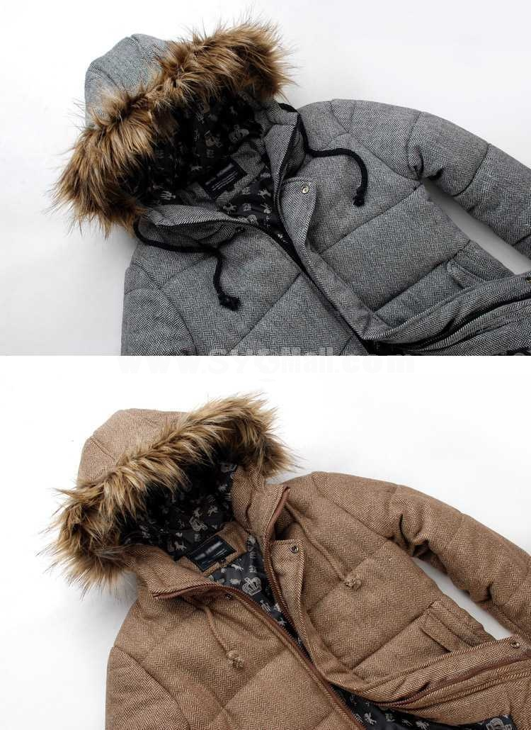 Hot-Selling Casual Hooded Cotton-Padded Coat (501B-B06)