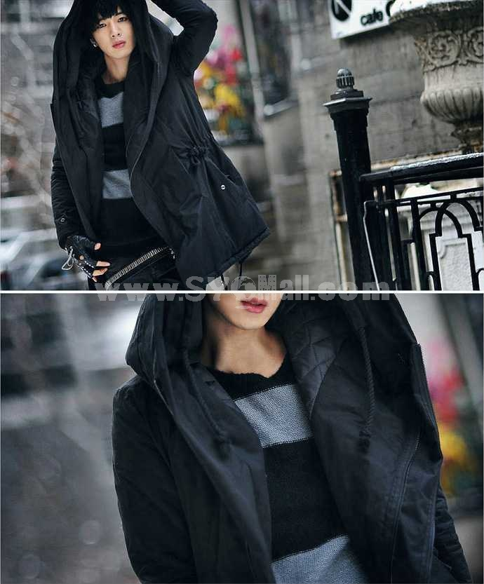 Fashionable Hot-Selling Extra-Thick Long Cotton-Padded Coat (810-MY06)