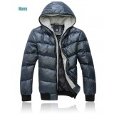 Wholesale - Men's Coat Hooded Extra Thick Cotton Padded Trendy Casual  (1403-YJ559)