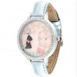 Wholesale - MINI Clay Quartze Round Dial Waterproof Watch Rhinestone Cartoon Creative PVC Band Watch mn1059