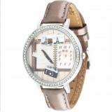 Wholesale - MINI Clay Quartze Round Dial Waterproof Watch Rhinestone Cartoon Creative PVC Band Watch mn1058