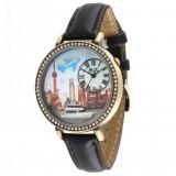 Wholesale - MINI Quartze Round Dial Waterproof Watch Rhinestone Cartoon Creative PVC Band Watch mn1075