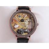 Wholesale - MINI Quartze Round Dial Waterproof Watch Rhinestone Cartoon Creative PVC Band Watch mn1040